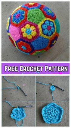 Crochet Soccer Ball Free Crochet Pattern