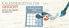 Aufruf! Kreative Kalenderblattdesigner mit DaWanda-Shop gesucht! | DaWanda Blog