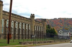 West Virginia Penitentiary, Moundsville, West Virginia . . . remembering riding down to see this