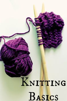 Knitting Basic Tutorials! great if you need to brush up on the basics or if you want to learn to knit!