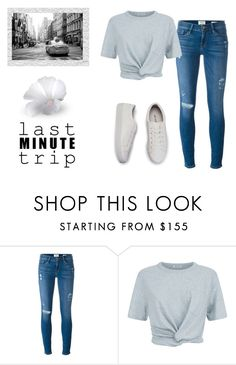 """""""Untitled #166"""" by danielagaiorodrigues ❤ liked on Polyvore featuring Frame Denim and T By Alexander Wang"""