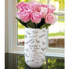 Greek signature vase, perfect idea for any sequence of the member (bid day, initiation, senior send on)