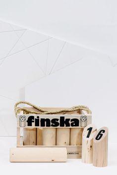 Finska Log Tossing Game
