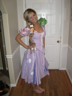 Tangled halloween costume, totally doing this with preston as Flynn Rider!
