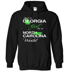 ustXanhLa002-009-North_Carolina GIRL - #food gift #candy gift. MORE ITEMS => https://www.sunfrog.com/States/1-Black-79493359-Hoodie.html?68278