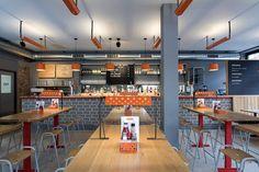 Brinkworth colabora con michael Marriott para diseñar el restaurante de aves en londres