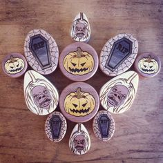 Halloween Wood Plugs Gauges from Omerica Organic. Use Rep Code SWEETLE at checkout for 20% off your first purchase!