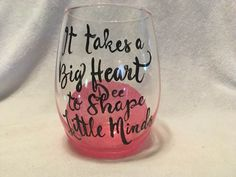 Tritan Plastic Material Stemless Wine Glass Cant Live On Apples Alone Teacher Gifts 16 Ounce Teacher Appreciation Back to School Teacher Gift,