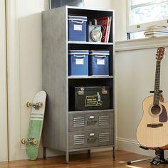 Locker Tower #pbteen <<< Idea for basement craft center storage