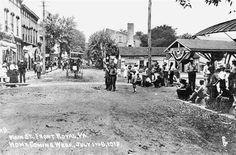 Main St. Front Royal,   Homecoming Week, July 1-8, 1918