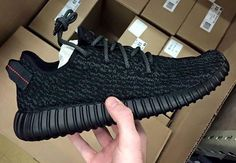 "Here's Where You Can Cop The ""Black"" Adidas Yeezy 350 Boost Low"