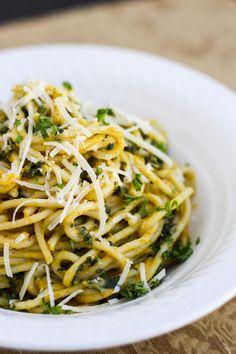 butter nut squash-pasta