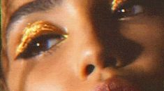 Defiantly decadent makeup created by the world's most celebrated editorial and runway makeup artist, Pat McGrath. Explore all of the Pat McGrath Labs creations on her official site. Makeup Inspo, Beauty Makeup, Eye Makeup, Hair Beauty, Gold Makeup, Makeup Gif, Runway Makeup, Glossy Makeup, Brown Makeup