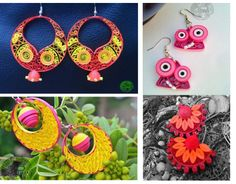 Lets Meet Shweta Yadav of 3Dart who does beautiful quilling jewelry