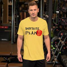 Initiate Plan B Bitcoin T-Shirt For Men (Light) - Yellow / S