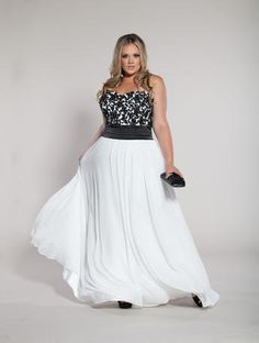 Sydney's Closet Plus Size Prom Dress