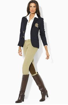 The Pink and Green Prep: Obsession: Equestrian Style