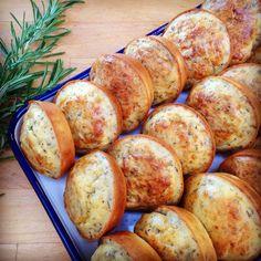 Kruidige kaasmuffins