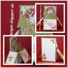 Stampin UP , Card in a Box , Christmas , x-mas , Willkommen Weihnacht , Wonderous Wreath , Christmas Festival , Christbaumfestival , Stanze Tannenbaum