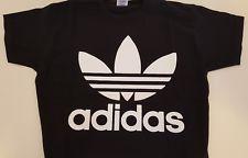 t-shirt tutta nera adidas