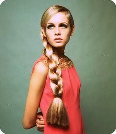 Twiggy: She is such a fashion icon and has the best eyelashes