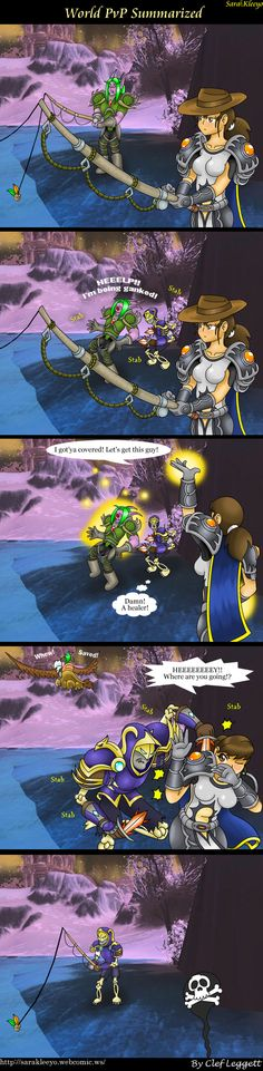 yep every time. except its the other way around. my undead priest getting ganked by night elfs :P