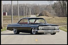 1962 Chevrolet Bel Air Resto Mod 6.2/670 HP, Pro Touring Bubble Top presented as lot S162 at Indianapolis, IN 2013 - image1