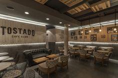 Tostado Cafe Club by Hitzig Militello Arquitectos, Buenos Aires – Argentina
