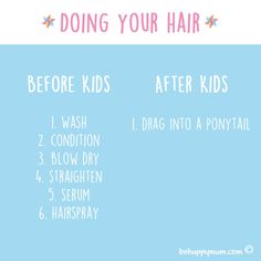 All that other stuff was boring anyway! See more funny Before & After Kids pics here: http://www.behappymum.com/mum-support-and-wellbeing/before-after-kids/  #funny #parenting