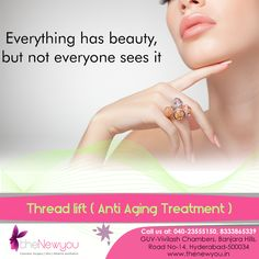 Give a youthful boost to your face and get rid of #saggingskin and drooping lips with the effective #ThreadLiftTreatment from TheNewYou.Contact for Great Deals!