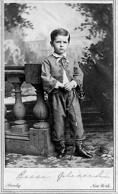 *JESSE ROOT GRANT II ~ (February 6, 1858 – June 8, 1934) was an American politician. He was the youngest son of President Ulysses S. Grant and First Lady Julia Grant. He joined the Democratic Party and quixotically sought the party nomination for President, running against William Jennings Bryan in 1908. In 1925, he wrote a biography of his father.