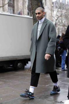 #FGUKSTYLEFILE: The Best of London Fashion Week Men's AW17 StreetStyle.   Fgukmagazine   Fashion, Art, Music, Culture, Talent, Design  Chicago