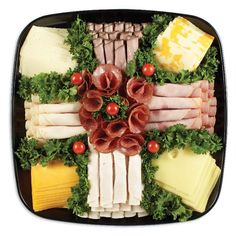Just browse through our site to see how you can plan the best party. There are countless ideas – we offer a wide range of tasty platters for any occasion, big or small. Deli Platters, Deli Tray, Cheese Platters, Meat And Cheese Tray, Party Trays, Bacon Recipes, Appetizers, Tasty, Classic