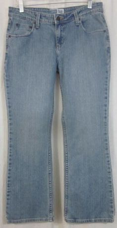 Levi Signature Jeans Size 8 Short 31x28 Boot Cut Free Shipping #Levis #BootCut