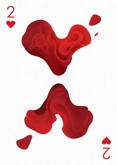 2 of Hearts by Maria Grønlund