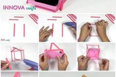 Here's the link to the tutorial  How to Make Ice Cream Sticks Phone Holder  by Innova Crafts -------------------------------------Ads--------------------------------------- -------------------------------------Ads---------------------------------------