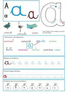 Fiches pour apprendre les majuscules et les minuscules