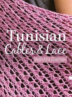 Tunisian Crochet Basics - What You Need to Know to Get Started - Baby to Boomer Lifestyle Tunisian Cables & Lace Crochet Vintage, Crochet Lace, Free Crochet, Crochet Granny, Lace Knitting, Crochet Classes, Crochet Videos, Crochet For Beginners Blanket, Crochet Basics