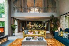 Kate Moss Interior Designer: Barnhouse  #house #design #interiordesign