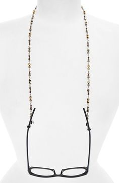 Free shipping and returns on Corinne McCormack Beaded Eyewear Chain at Nordstrom.com. Mixed metallic beads shimmer on an elegant chain that keeps your eyewear close at hand.