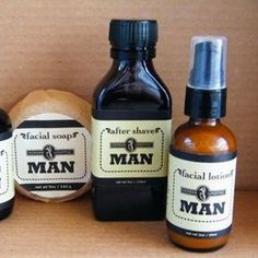 Herban Lifestyle Man Organic Vegan Grooming by herbanlifestyle Male Grooming, Men's Grooming, Facial Lotion, Shaving Oil, Beauty Packaging, Skincare Packaging, After Shave, My Guy, Soap Making