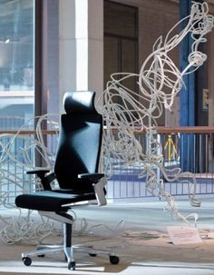 BURODECOR  | ON office chair with Trimension | Design: wiege | By Wilkhahn | #on