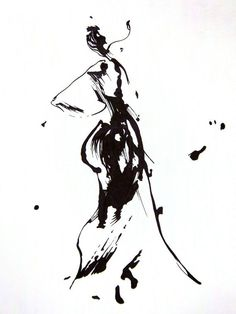 ink life drawing abstract - Google Search