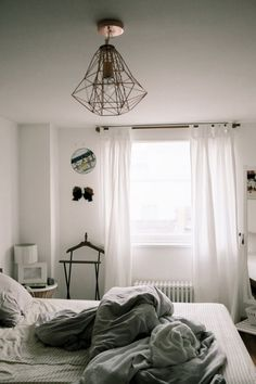 Small, but very glamorous loft apartment Bedroom Wall, Bedroom Decor, Bedroom Ideas, Cozy Bedroom, Light Bedroom, Budget Bedroom, Bed Ideas, Bedroom Inspiration, Bedroom Furniture