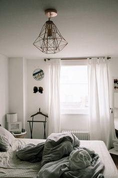 Small, but very glamorous loft apartment Bedroom Wall, Bedroom Decor, Bedroom Ideas, Cozy Bedroom, Light Bedroom, Budget Bedroom, Bed Ideas, Bedroom Furniture, Modern Furniture