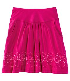 I love skirts in the summer and fall and winter and spring!
