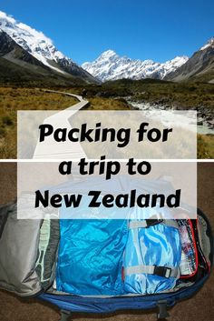 Wondering what to pack for a trip to New Zealand in spring or fall? Read this post to find out (complete with sample packing list)!
