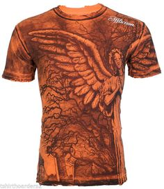 Affliction T-Shirts Clothing, Shoes & Accessories Mens Tee Shirts, Cool Shirts, Branded T Shirts, Printed Shirts, Mma Ufc, Customizable Shirts, Affliction Clothing, Men Style Tips, Looks Cool