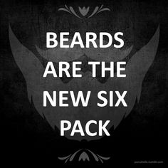 there's just something about a man who can grow a good looking beard #manly