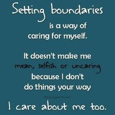 """This post is quite practical. It's about boundaries. One of the signs we are lacking security in Christ is a lack of boundaries. You may be thinking, """"I don't have an issue with b…"""
